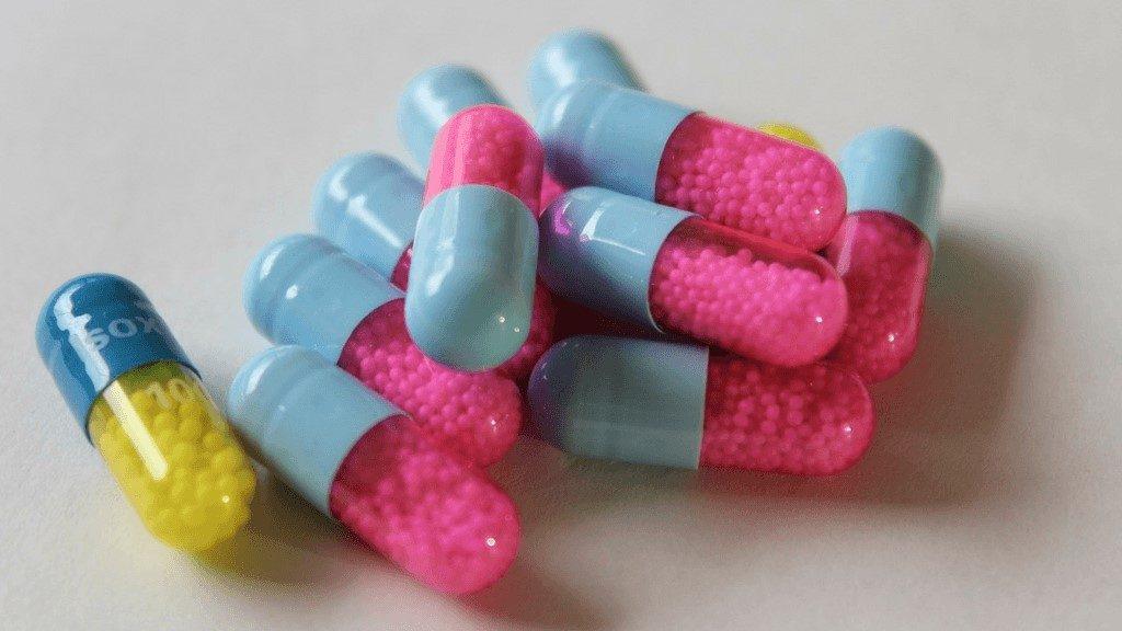 colourful medicine capsules