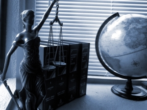lady justice and glbe
