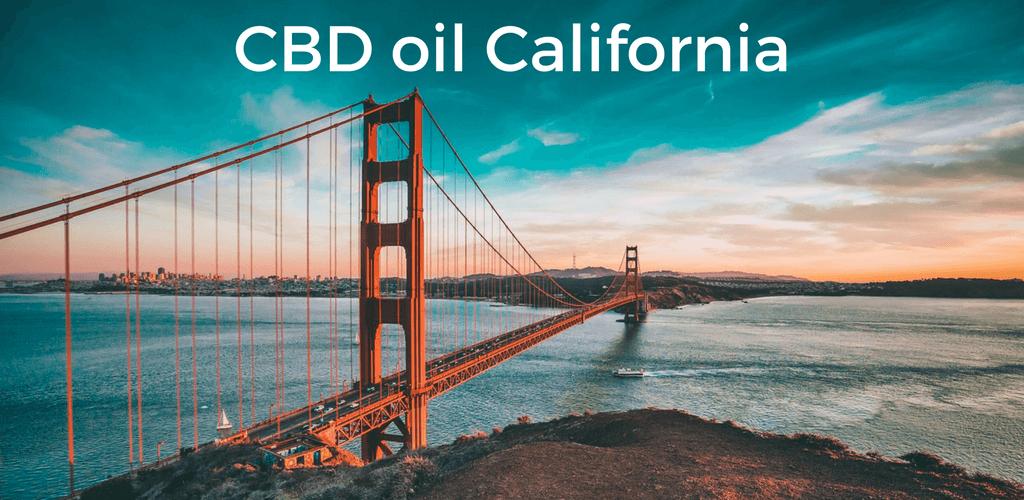 CBD oil California - Golden Gate bridge