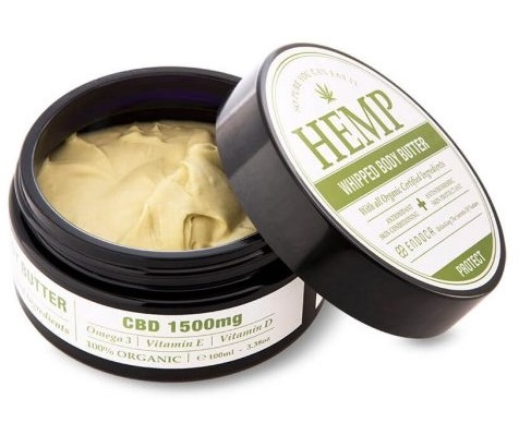 best hemp pain relief cream