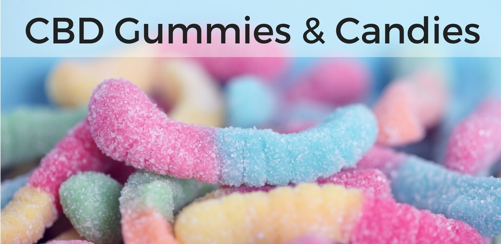 CBD gummies and candies