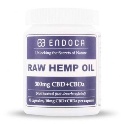 endoca CBD & CBDa 300mg capsules